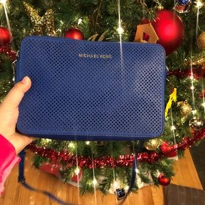Electric Blue Michael Kors Crossbody